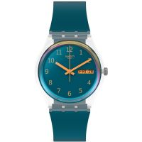 Unisex Swatch Blue Away Watch GE721