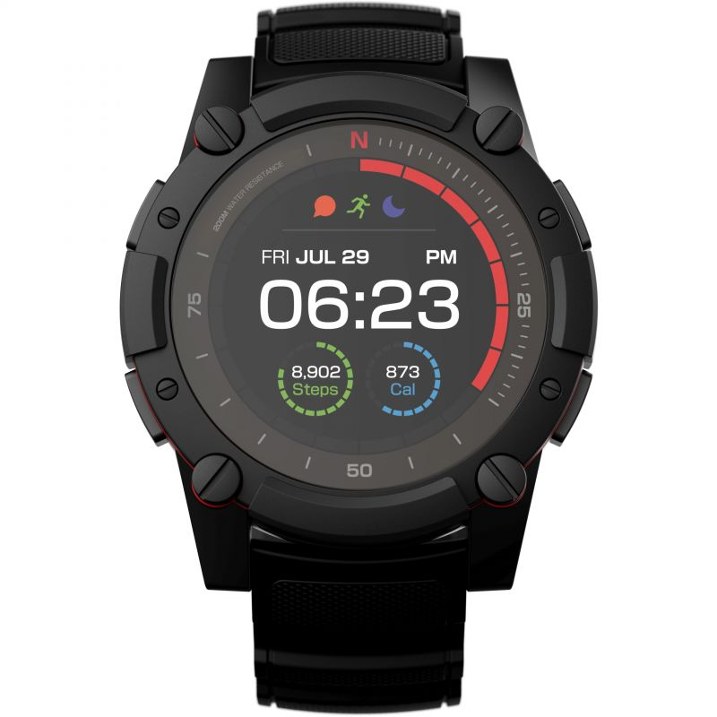 PowerWatch Series 2 SmartWatch with a Tough, Durable Rubber Strap