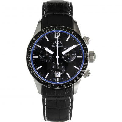 Mens Rotary Chronograph Watch GS90152/04/K