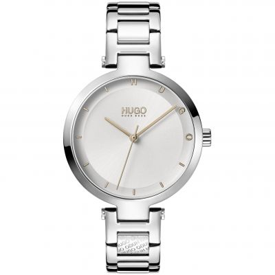 HUGO #HOPE Damklocka Silver 1540076