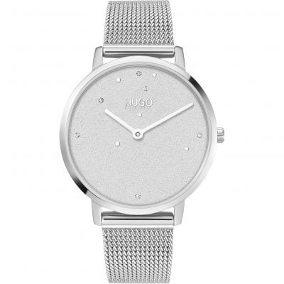 HUGO #DREAM Damklocka Silver 1540066