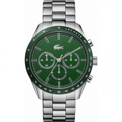 Lacoste Boston Herenchronograaf Zilver 2011080