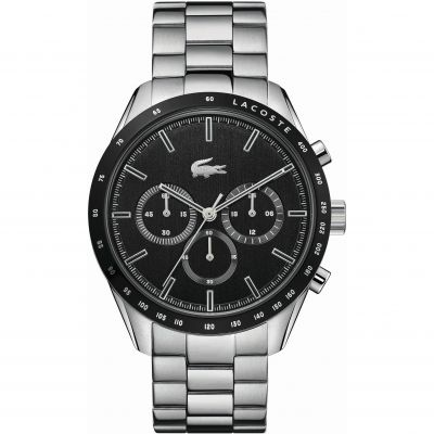 Lacoste Boston Herenchronograaf Zilver 2011079
