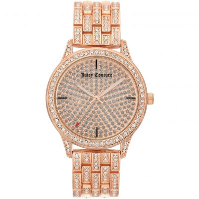 Juicy Couture Damklocka Rose Gold JC/1138PVRG