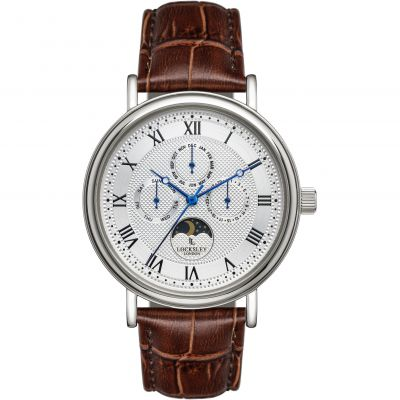 Locksley London Locksley London Herenhorloge Bruin LL0063040