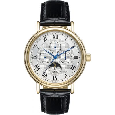 Locksley London Locksley London Herenhorloge Zwart LL0063340
