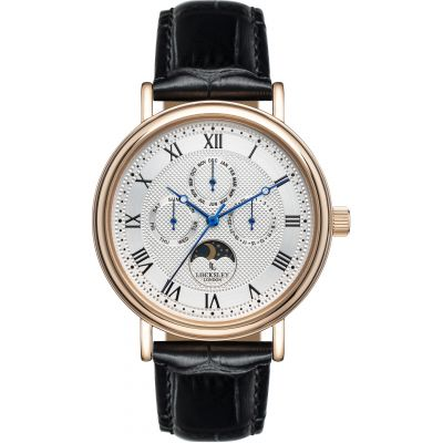 Locksley London Locksley London Herenhorloge Zwart LL0063440