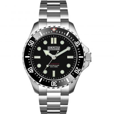 Mens Depth Charge Automatic Divers Watch DB106611