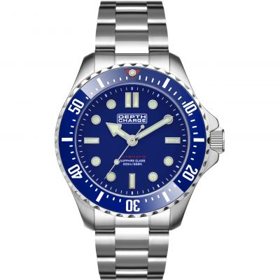 Mens Depth Charge Automatic Divers Watch DB106621