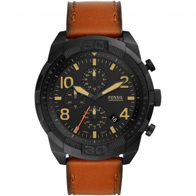 Fossil Bronson Herenchronograaf Bruin FS5714