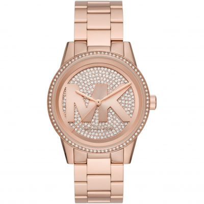 Michael Kors Ritz Damklocka Rose Gold MK6863