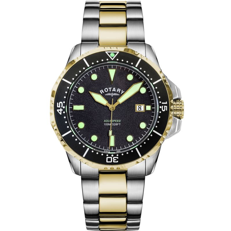 Rotary Aquaspeed Bracelet Watch AGB19008/W/04