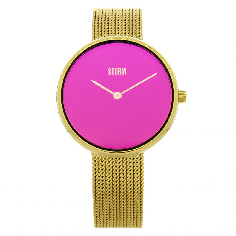 Ladies STORM Selina Gold Purple Watch 47480/GD/P