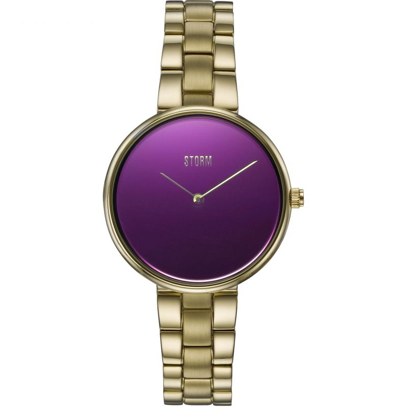 Ladies STORM Selina-X Gold Purple Watch 47481/GD/P