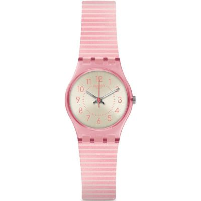 Swatch Essentials Aug 2020 Blush Kissed Damenuhr in Pink LP161