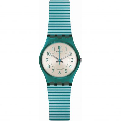Ladies Swatch Phard Kissed Watch LS117