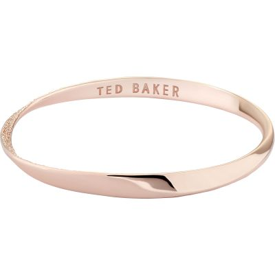 Ted Baker Helmara Hammered Hoop Bangle TBJ2696-24-03
