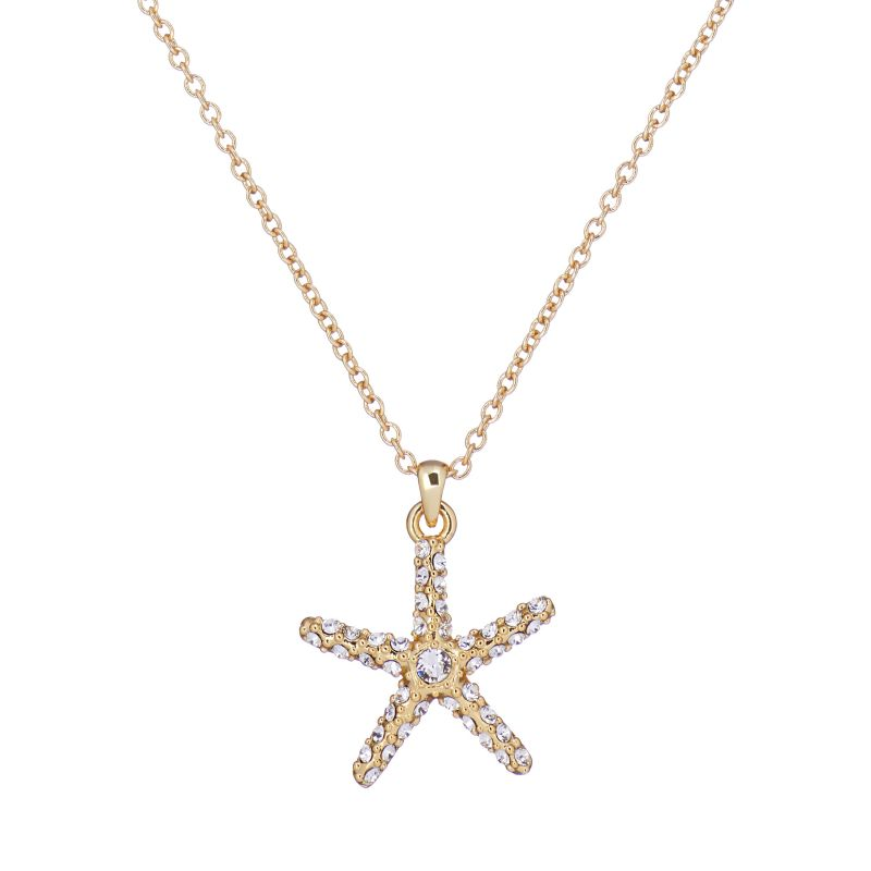 Ted Baker Starrei Starfish Necklace TBJ2683-02-02