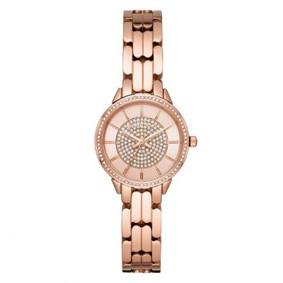 Michael Kors Allie Damklocka Rose Gold MK4413