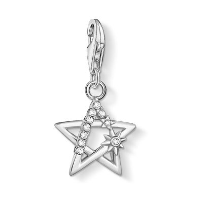 THOMAS SABO Dames Star Charm Pendant Sterling Zilver 1850-051-14