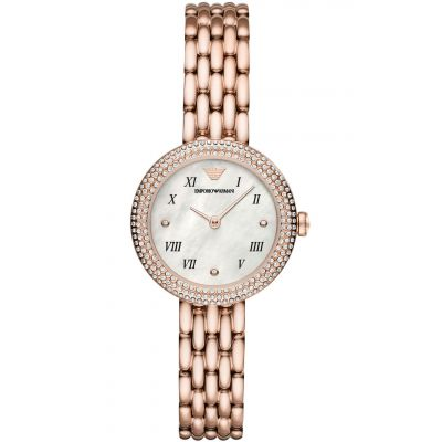 Emporio Armani Dameshorloge Rose Gold AR11355