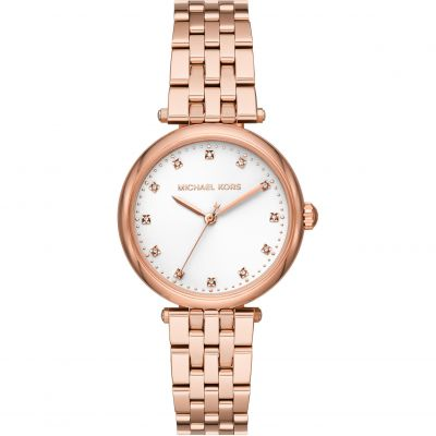 Michael Kors Diamond Darci Damklocka Rose Gold MK4568