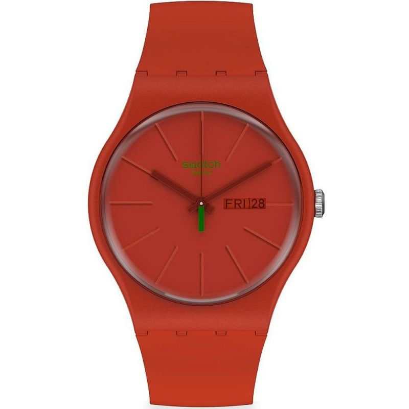 Unisex Swatch Redvremya Watch SO29R700