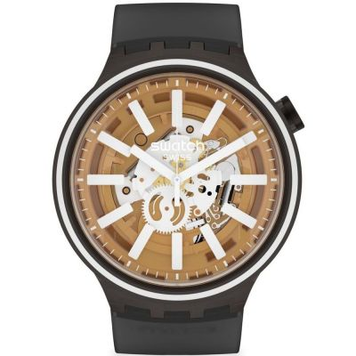 Swatch Light Taste Unisex horloge Zwart SO27B114