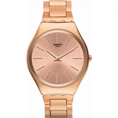 Swatch Skin Irony Goldtralize Damenuhr in Rosegold SYXG110G