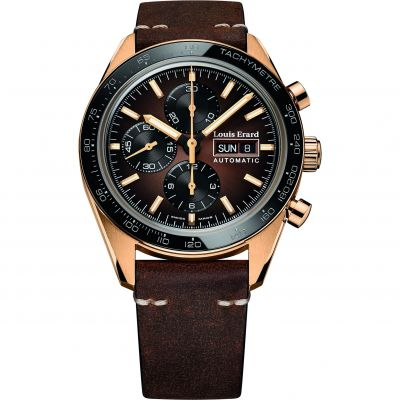 Louis Erard Sportive Chronograph Herenchronograaf Bruin 78119BR16.BVD71