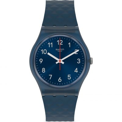 Swatch Originals Bluenel Herrenuhr in Marine GN271