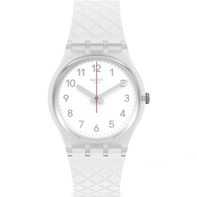 Swatch Originals Whitenel Herrenuhr in Weiß GE286