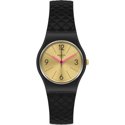 Swatch Originals Luxy Barok Damenuhr in Schwarz LB187