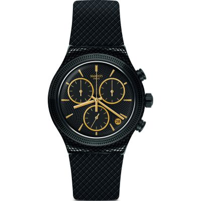 Swatch Irony Chrono Crazy For Precious Unisexchronograph in Schwarz YVB408