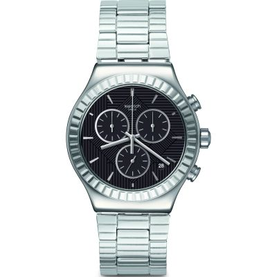 Swatch Irony Chrono Joe's Smile Unisexchronograph in Silber YVS471G