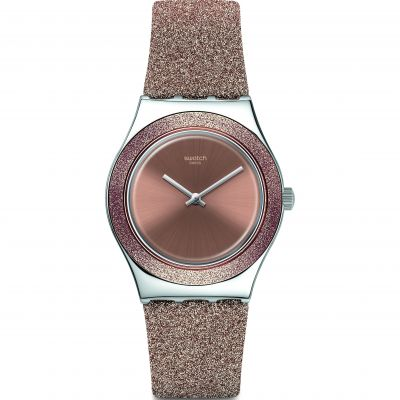 Swatch Rose Sparkle Watch YLS220