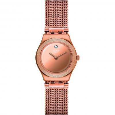 Swatch Luminescent Rose Watch YSG166M