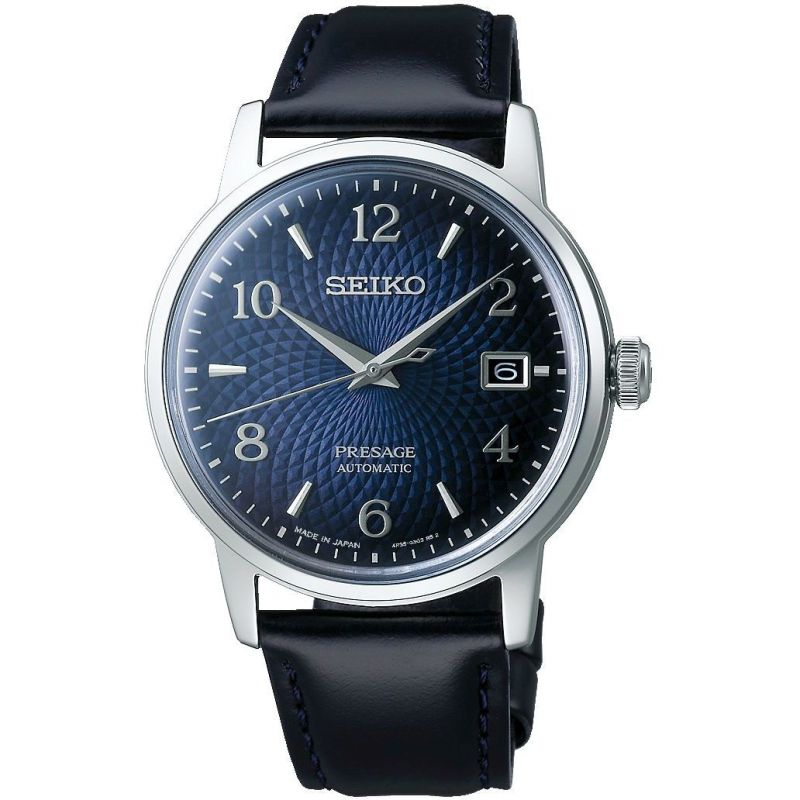 Mens Seiko Automatic Watch SRPE43J1