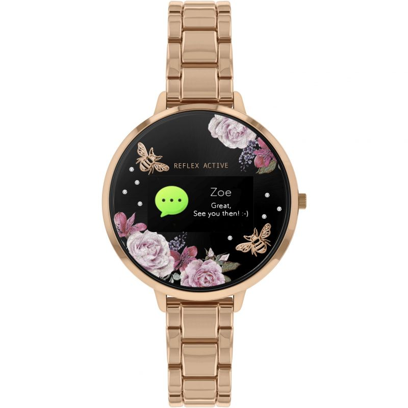 Ladies Reflex Active Bluetooth Smartwatch RA03-4012