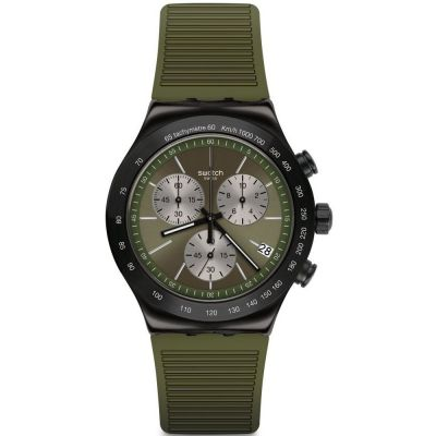 Montre Chronographe Homme Swatch Jungle Snake YVB411