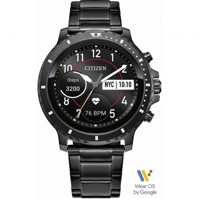 Mens Citizen CZ Smart Bluetooth Smartwatch MX0007-59X