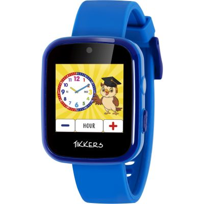 Childrens SMARTWATCH Tikkers Smart Interactive Interactive ATK1084BLU