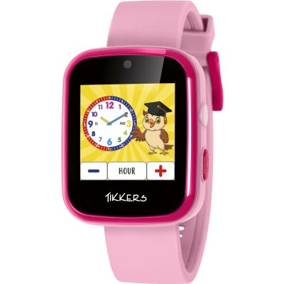 Childrens SMARTWATCH Tikkers Smart Interactive Interactive ATK1084PNK