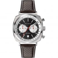 Mens Accurist Retro Racer Chronograph Watch 7367