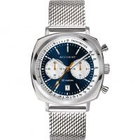 Mens Accurist Retro Racer Chronograph Watch 7366