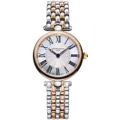 Ladies Frederique Constant Art Deco Round Watch FC-200MPW2AR2B