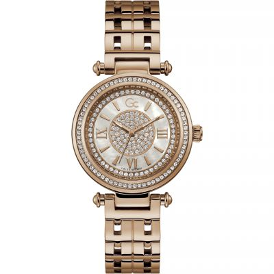 Gc PrimeChic Damklocka Rose Gold Y46006L1MF