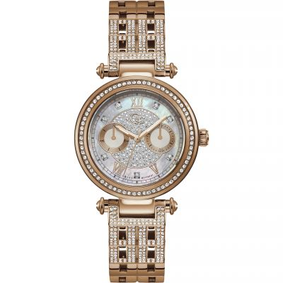 Gc Primechic Damklocka Rose Gold Y78004L1MF