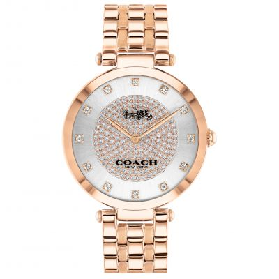 Coach Damklocka Rose Gold 14503735