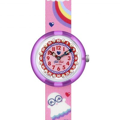 Flik Flak Imagination Spooky Kinderuhr in Pink FBNP165